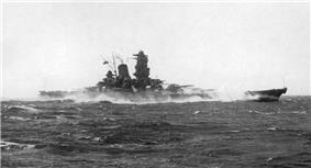 The Yamato during sea trials off Japan near Bungo Strait, 20 October 1941.