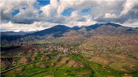 Yeghegnadzor landscape