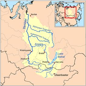 Yenisey basin