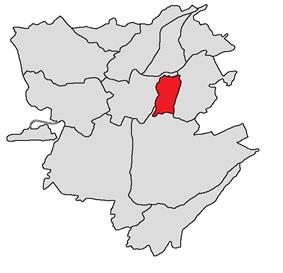 Nork-Marash district shown in red