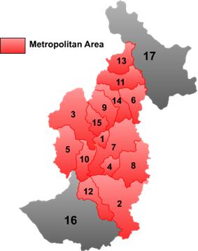 Location of Meixi (