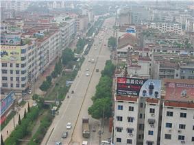 Aerial View of Yongkang