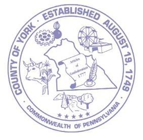 Seal of York County, Pennsylvania