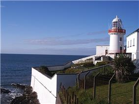 Youghal lighthouse in the sunshine