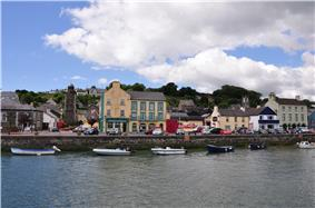 Youghal town harbour