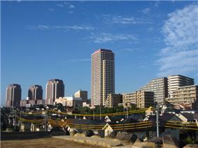 Yuukarigaoka district of Sakura