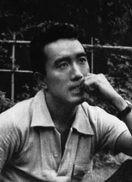 Yukio Mishima in 1956