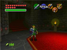 A young boy holds a sword in a dungeon lit by a candle