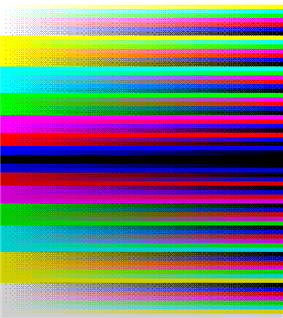 ZX Spectrum standard palette with 8x8 ordered dithering.