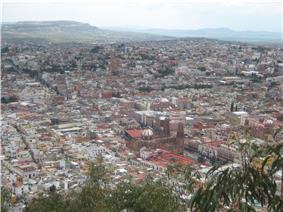 View of Zacatecas