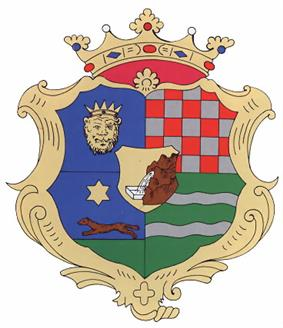 Pre-1922 coat of arms of Zagreb County