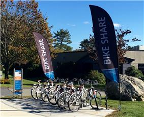 Zagster bike sharing station