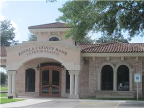 Zavala County Bank in La Pryor, Texas