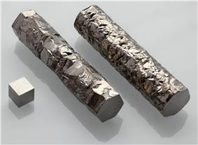 Image: Zirconium crystal bar