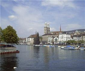 Grossmünster church Zurich