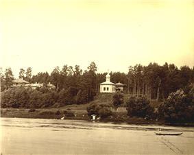 View of Žvėrynas in 1873-1881
