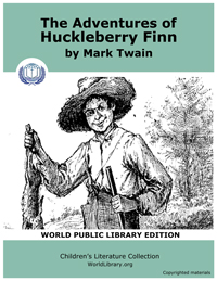Adventures of Huckleberry Finn by Twain, Mark